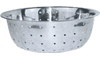 Winco Chinese Colander, 5MM Holes, Stainless Steel - 13