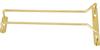 Winco Wire Glass Hanger/Holder Rack, Brass Plated - 10