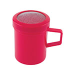 Fox Run Mesh-Top Shaker/Dredge, 10 oz. - Red