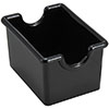 Winco Adcraft Sugar Packet Holder, Plastic - Black