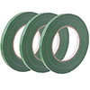 Tape for Poly Bag Sealer, 3 Rolls, Each 3/8 Inch x 180 Yards - Green