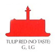 Chefmaster Liqua-Gel Food Color 2.3 oz. - Tulip Red (no taste)