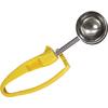 Zeroll #2012 Universal EZ Disher Food / Ice Cream Scoop - Color Coded - 20-Yellow