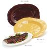 G. E. T. Melamine Platter, Oval, New Yorker Series, 21