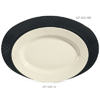 G. E. T. Melamine Platters, Oval, Sonoma Series, 23.25