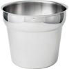 Winco Inset Bucket Stainless Steel - 7 Quart