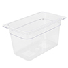 Clear Food Pan, Quarter Size (6-3/8
