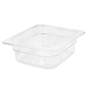 Clear Food Pan, Sixth Size (6-3/8