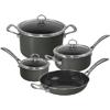 Chantal 7-Piece Copper Fusion Cookware Set Onyx
