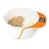 Escali Taso Mixing Bowl Digital Scale Color: Orange