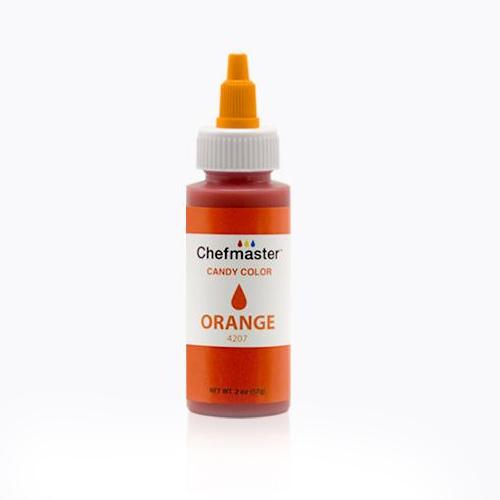 Chefmaster Liquid Candy Color, 2 Oz - Orange