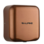 Alpine 400-10 Hemlock Automatic Commercial Hand Dryer - Coffee