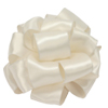 Contessa Wired Edge Ribbon, 1-1/2 Inch Wide, Roll of 25 Yards - Ivory