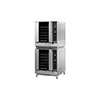 Moffat G32D5 Turbofan LP Gas Convection Oven Digital Full Size 5 Pan - Double With Stacking Kit