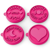 Silicandy Silicone Cookie Stamps - Spread the Love