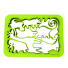 Silicandy Animal Cookie Cutter Sheets - Jungle Animals