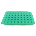 O'Creme Silicone Truffle Mold, Round - 30mm Dia x 25mm High (63 Cavities)