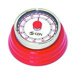CDN MT4 Compact Mechanical Timer - Red