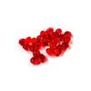 Edible Red Diamond Jewels - 4mm