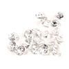 Edible Clear Diamond Jewels - 8mm