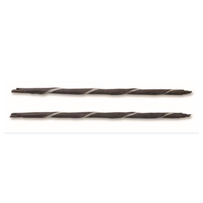 Dobla Chocolate Panatella - Dark with White Stripe