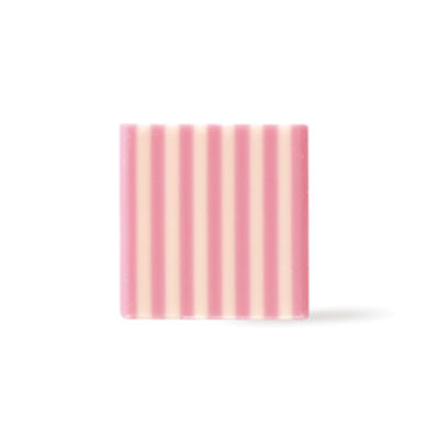 Dobla Chocolate Domino Square - Pink / White
