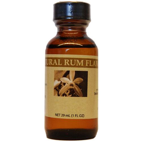 Bakto Flavors Natural Rum Flavor, 29 ml (1 Fl Oz) - 002275