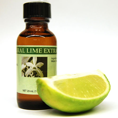 Bakto Flavors Natural Lime Extract, 29 ml (1 Fl Oz) - 002305