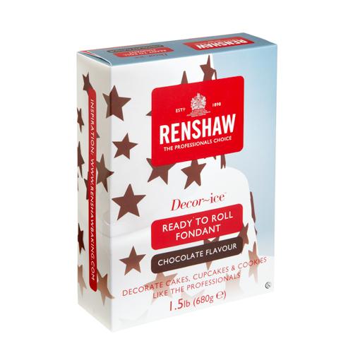 Renshaw Chocolate Decor-Ice Fondant 1.5 Lbs
