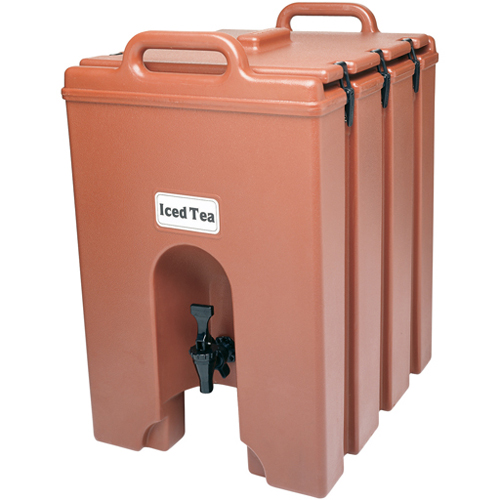 Optimal Cambro Lcd Camtainer Insulated Beverage Server Gal Brick Product Photo