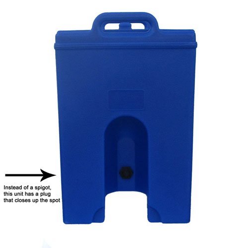 Optimal Cambro Lcdpl Gallon Insulated Soup Container Wplug Navy Blue Product Photo
