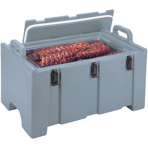 Unique Cambro Mpc Camcarrier Insulated Food Container Capacity Qts Slate Blue Product Photo