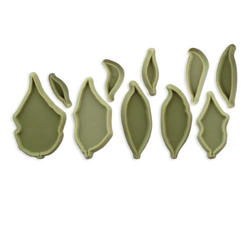 JEM Cutters Poinsettia, Set of 10 Cutters 103FF012