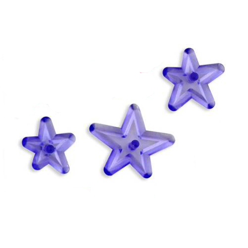 JEM  Funky Star Cutters,  Set of 3 Cutters 112SP011