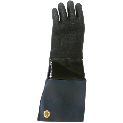 "San Jamar  Rotisserie Neoprene Glove, 17"" Long, 1 Pair T1217"