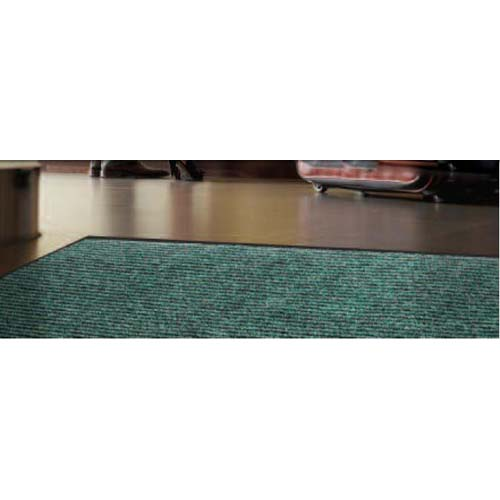 Needle Rib Carpet Mat - Charcoal 3 Feet x 10 Feet
