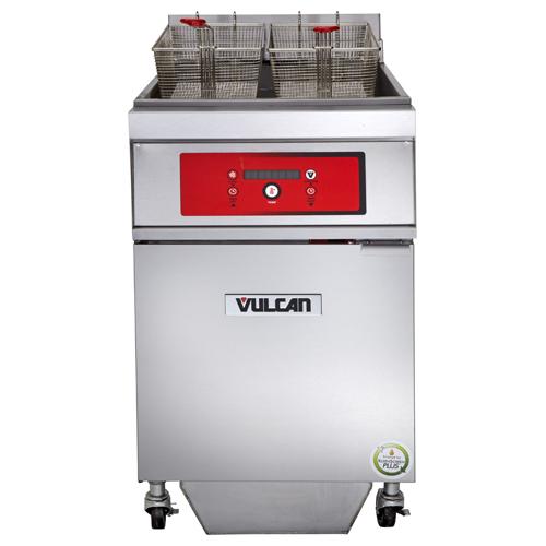Vulcan Electric Freestanding Fryer Lb Oil Cap W Solid State Digital Control