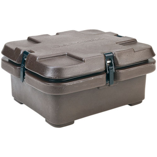 Cambro Insulated Food Pan Carrier Fits One Half Size Deep Pan Coffee Be Product Photo