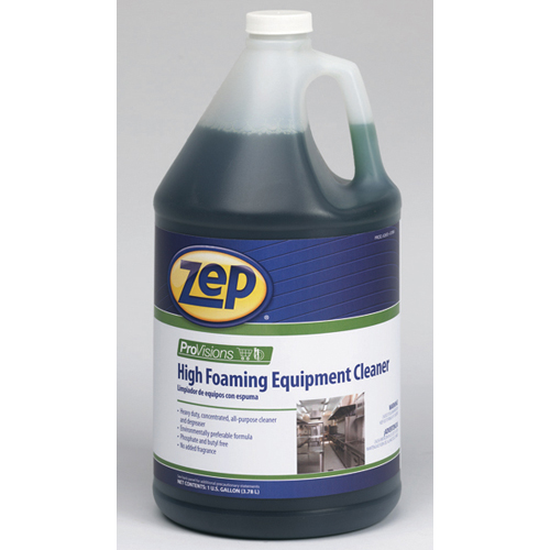 Zep Provisions High Foaming Equipment Cleaner 1 Gallon