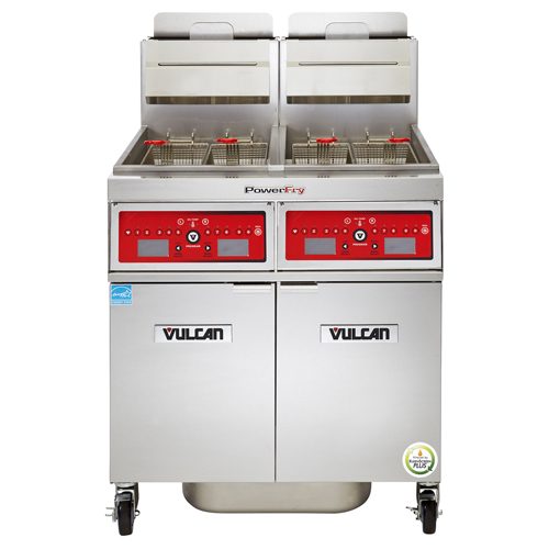 Purchase Vulcan Powerfry Gas Fryer Lb Oil Cap Programmable Computer Control Natural Gas Product Photo