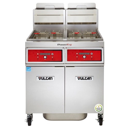 Vulcan Powerfry Gas Fryer Lb Oil Cap Solid State Digital Control Lp Gas Product Photo