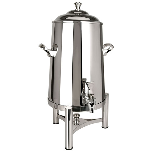 Eastern Tabletop Stainless Steel Pillard Insulated Coffee Urn - 3 Gal