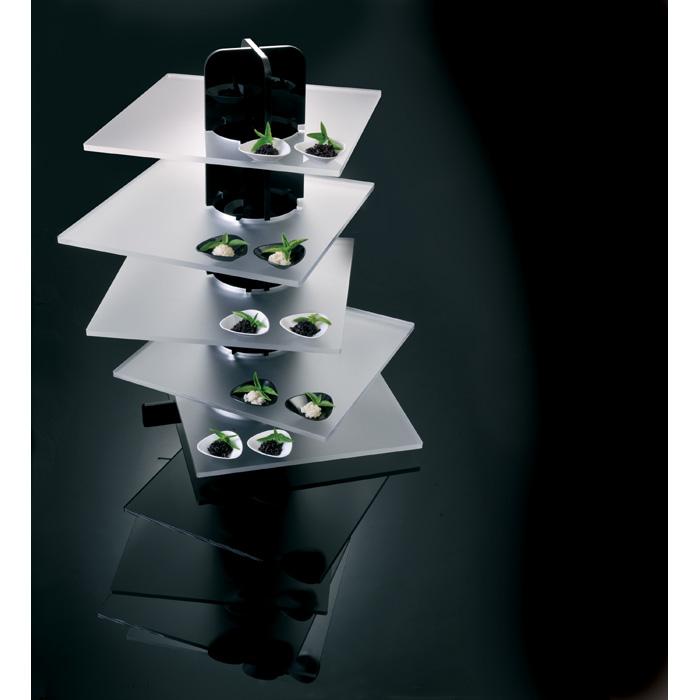 Martellato-Cake-Stand-Square-Plates Product Image 4053