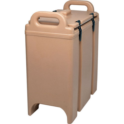 Ultimate Cambro Lcd Camtainer Insulated Soup Container Gallon Coffee Beige Product Photo