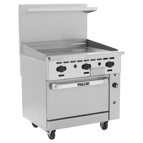 Vulcan-Endurance-Gas-Range-Griddle-Natural-Gas Product Image 19