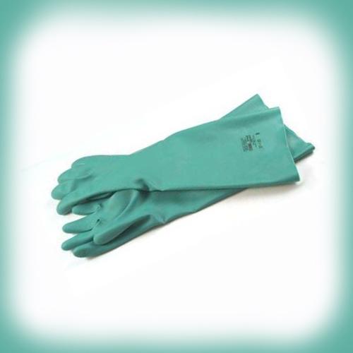 "Sol-Vex Nitrile Gloves 18"" Long, 1 Pair - 11 ANE-37-185-11"