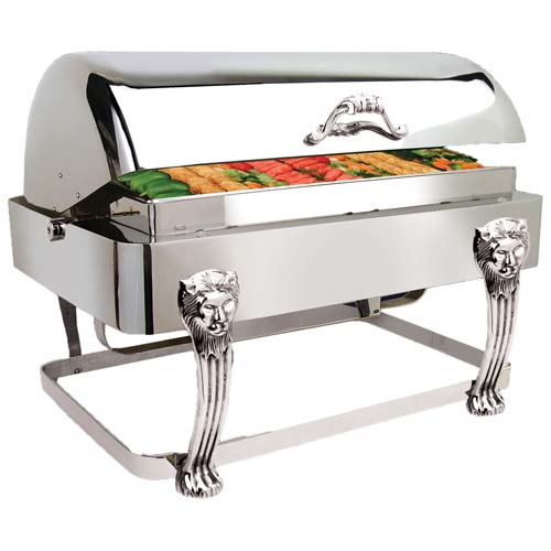 Eastern-Tabletop-Lion-Rectangular-Rolltop-Chafer-Drip Product Image 1162