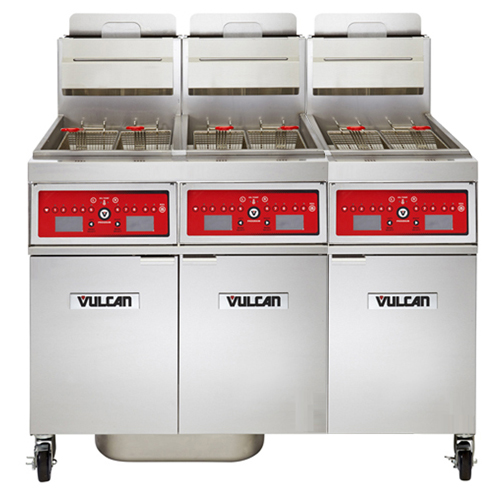 Vulcan Freestanding Gas Fryer Lb Oil Cap Programmable Computer Control Natural Gas Product Photo