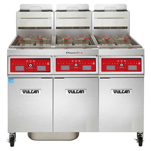 Vulcan Powerfry Lp Gas Fryer Lb Oil Cap Programmable Computer Control Product Photo