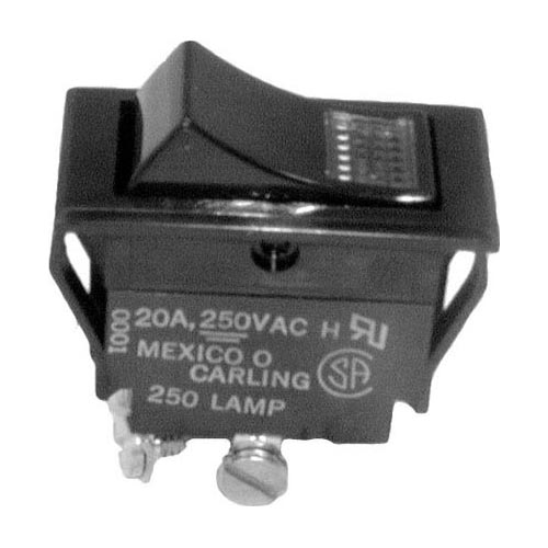 All Points Cres cor Lighted Rocker Switch